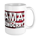 OBAMA Vote Democrat Large Mug