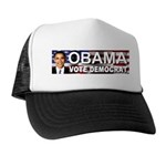 OBAMA Vote Democrat Trucker Hat