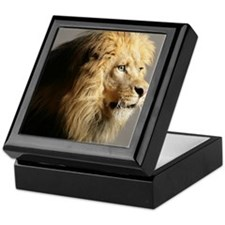 Lion Head Keepsake Box