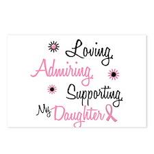 Loving Admiring 1 BC (Daughter) Postcards (Package