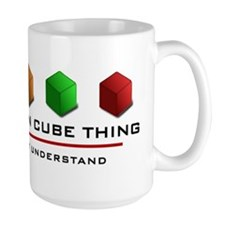 WoodenCubeThing Mug