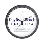 Daytona Beach Sailboat - Wall Clock