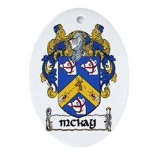 McKay Coat of Arms Keepsake Ornament