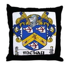 McKay Coat of Arms Throw Pillow