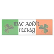 McKay in Irish & English Bumper Bumper Sticker