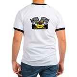 YELLOW RACE CAR T