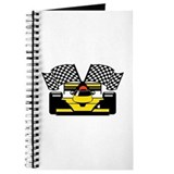 YELLOW RACE CAR Journal