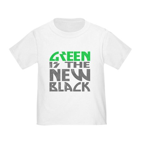 Green is the New Black Toddler T-Shirt