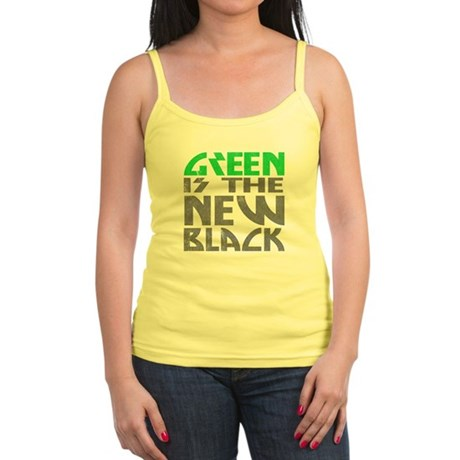Green is the New Black Jr Spaghetti Tank