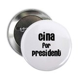 "Gina for President 2.25"" Button (10 pack)"