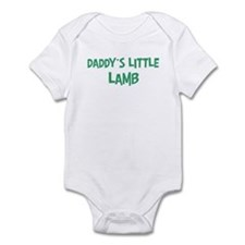 Daddys little Lamb Infant Bodysuit