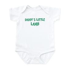 Daddys little Lamb Onesie