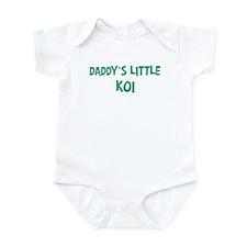 Daddys little Koi Onesie