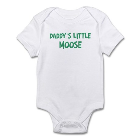 Daddys little Moose Infant Bodysuit