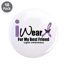 "Lupus Awareness 3.5"" Button (10 pack)"