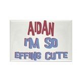 Aidan - So Effing Cute Rectangle Magnet