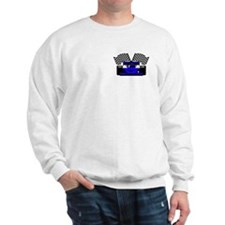 ROYAL BLUE RACE CAR Sweatshirt