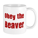 Obey the Beaver Mug