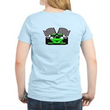 LIME GREEN RACE CAR T-Shirt