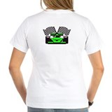 LIME GREEN RACE CAR Shirt
