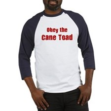 Obey the Cane Toad Baseball Jersey