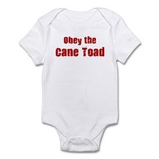 Obey the Cane Toad Infant Bodysuit