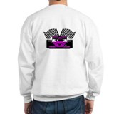 PURPLE RACE CAR Sweatshirt