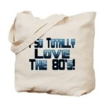 Love The 80's Tote Bag