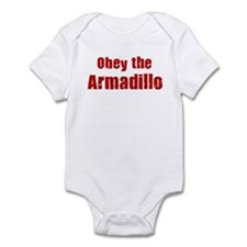 Obey the Armadillo Infant Bodysuit