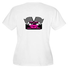 HOT PINK RACE CAR T-Shirt