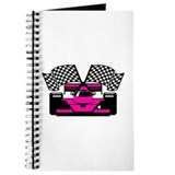 HOT PINK RACE CAR Journal