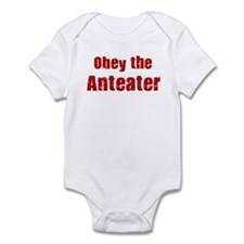 Obey the Anteater Infant Bodysuit