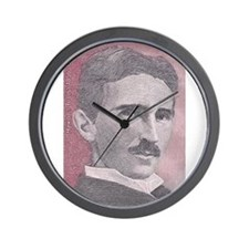 Tesla-1 Wall Clock