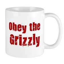 Obey the Grizzly Mug
