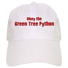 Obey the Green Tree Python Baseball Cap