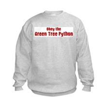 Obey the Green Tree Python Sweatshirt