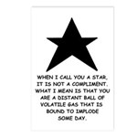 When I Call You A Star Postcards (Package of 8)