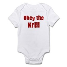 Obey the Krill Infant Bodysuit