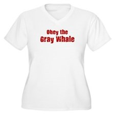Obey the Gray Whale T-Shirt
