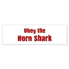 Obey the Horn Shark Bumper Sticker (10 pk)