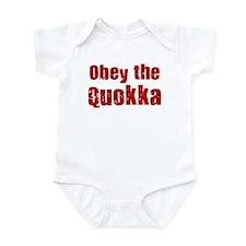 Obey the Quokka Infant Bodysuit