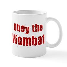 Obey the Wombat Small Mugs