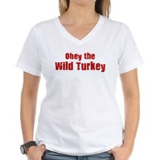 Obey the Wild Turkey Shirt