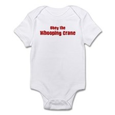 Obey the Whooping Crane Infant Bodysuit