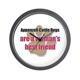 Appenzell Cattle Dogs woman's best friend Wall Clo