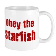 Obey the Starfish Mug