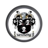 Kennedy Coat of Arms Wall Clock