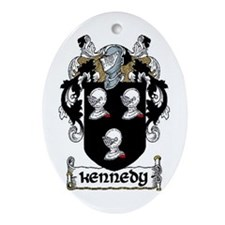 Kennedy Coat of Arms Keepsake Ornament
