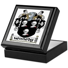 Kennedy Coat of Arms Keepsake Box
