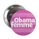 Obama femme (French) Obama woman campaign button